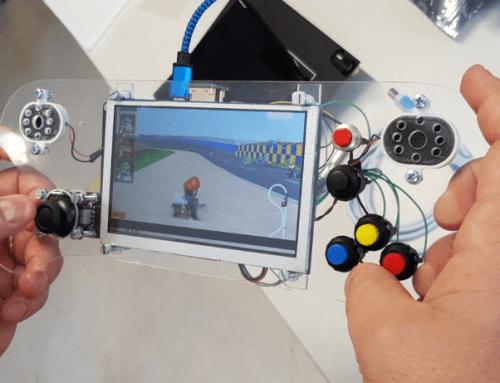 Build you own DIY game emulator – Powered by rhomb.io